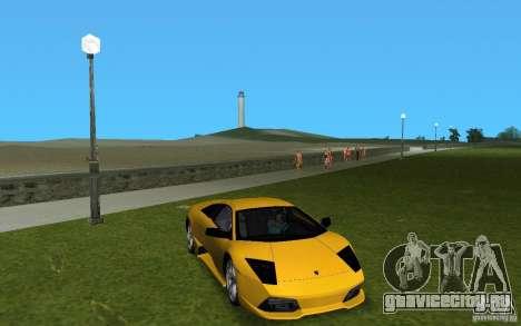 Lamborghini Murcielago LP640 для GTA Vice City вид слева