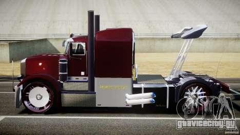 Peterbilt Sport Truck Custom для GTA 4 вид изнутри