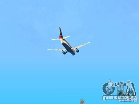 Airbus A320 British Airways для GTA San Andreas вид сверху