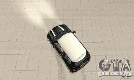 Mini Cooper Hardtop для GTA San Andreas вид справа