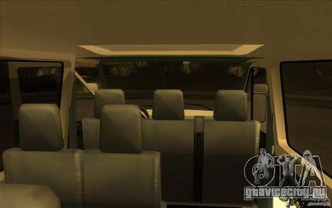 Mercedes Benz Sprinter 315 CDI для GTA San Andreas вид сзади
