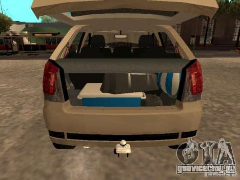 Fiat Palio 1.8R для GTA San Andreas вид сзади