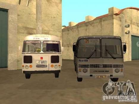 ПАЗ-4234 для GTA San Andreas вид слева