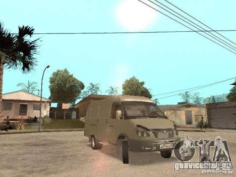 ГАЗель 2705 для GTA San Andreas вид слева