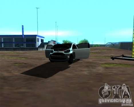 Aston Martin Cygnet для GTA San Andreas вид сбоку