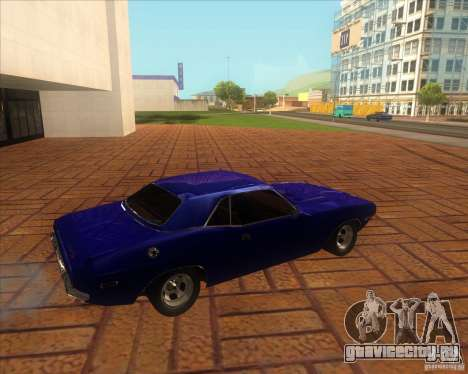 Dodge Challenger RT Hemi для GTA San Andreas вид слева