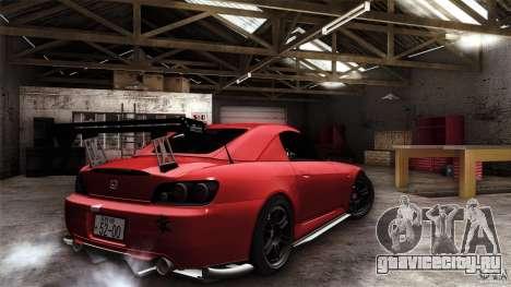 Honda S2000 JDM для GTA San Andreas салон