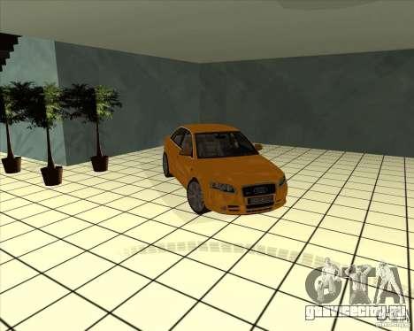 AUDI S4 Sport для GTA San Andreas вид сбоку