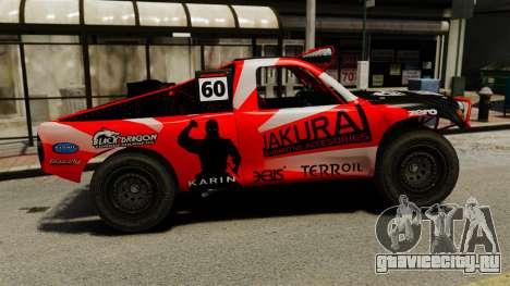 Toyota Tundra Karin Sahara v3.0 для GTA 4 вид слева