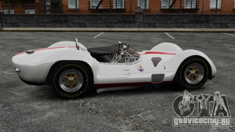 Maserati Tipo 60 Birdcage для GTA 4 вид слева