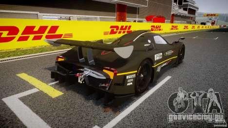 Pagani Zonda R 2009 для GTA 4 вид сбоку
