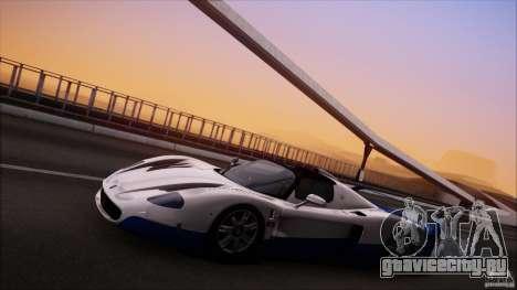 Maserati MC12 V1.0 для GTA San Andreas вид сбоку