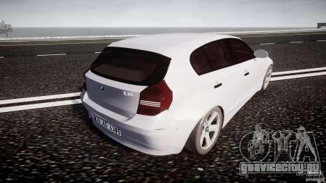 BMW 118i для GTA 4 вид сверху