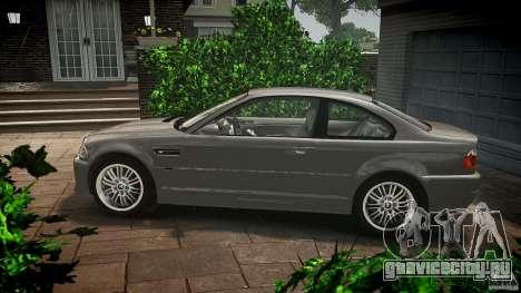 BMW M3 e46 v1.1 для GTA 4 вид слева