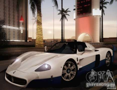 Maserati MC12 V1.0 для GTA San Andreas