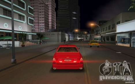 Bentley Arnage T 2005 для GTA Vice City вид сзади