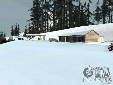 Зима для GTA San Andreas десятый скриншот