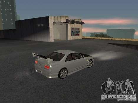 Nissan Skyline R33 SGM для GTA San Andreas вид справа