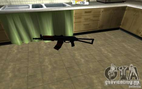 АК-74У для GTA San Andreas второй скриншот