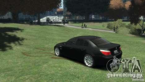 BMW M5 для GTA 4 вид слева