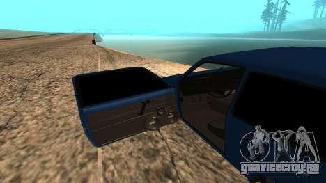 ВАЗ Ока 1111 для GTA San Andreas вид сзади