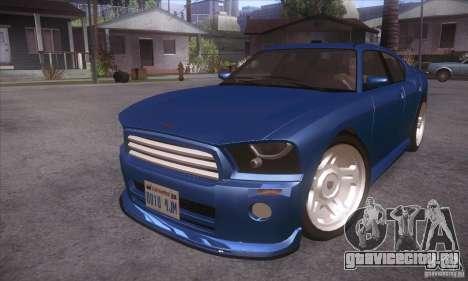 GTA IV Buffalo для GTA San Andreas