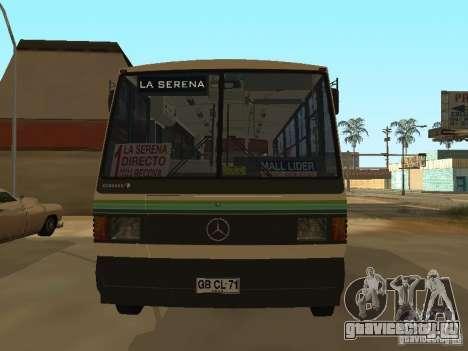 Mercedes-Benz LO-708E для GTA San Andreas вид справа