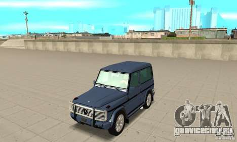 Mercedes-Benz G500 1999 Short [with kangoo v1] для GTA San Andreas