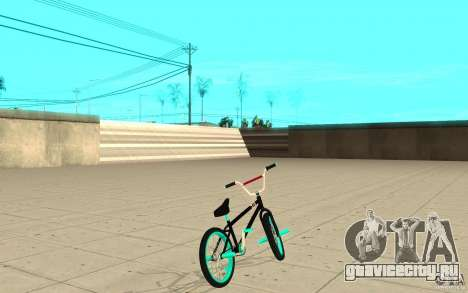 REAL Street BMX mod Black Edition для GTA San Andreas вид сзади слева