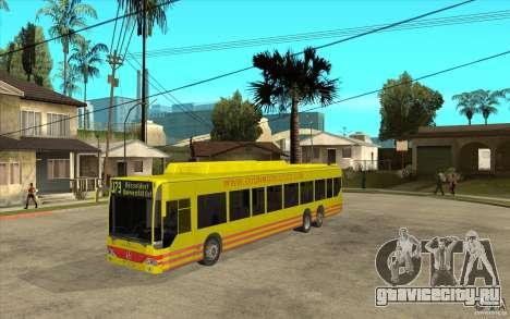 Mercedes Benz Citaro L для GTA San Andreas
