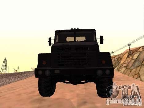 КрАЗ 260V для GTA San Andreas вид слева