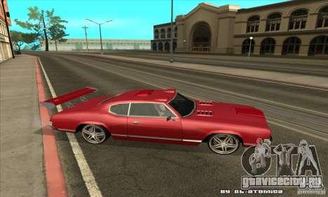 Sabre Drift для GTA San Andreas вид справа