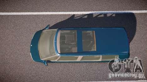Renault Grand Espace III для GTA 4 вид справа