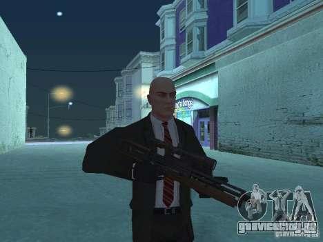 WALTHER 2000 HD для GTA San Andreas третий скриншот