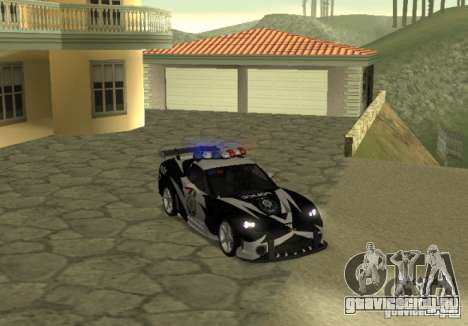 Chevrolet Cross Corvette C6 для GTA San Andreas вид справа