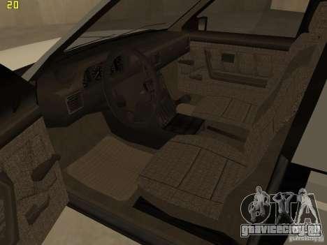 FSO Polonez Caro для GTA San Andreas вид изнутри