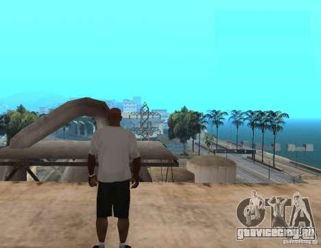 WWE футболка RKO для GTA San Andreas второй скриншот