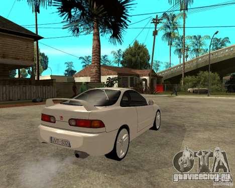 Honda Integra 1996 для GTA San Andreas вид сзади слева