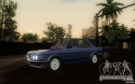 BMW E28 525e ShadowLine Stock для GTA San Andreas