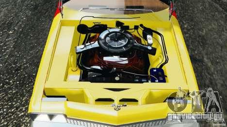 Dodge Monaco 1974 Taxi v1.0 для GTA 4 вид сверху