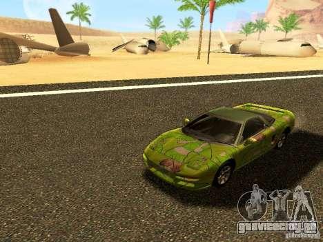Honda NSX Custom для GTA San Andreas вид справа
