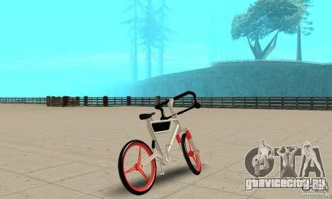 Wind Solar MT Bike для GTA San Andreas вид слева