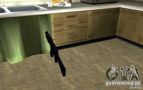 АК-74У для GTA San Andreas третий скриншот
