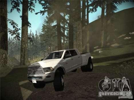 Dodge Ram 3500 4X4 для GTA San Andreas