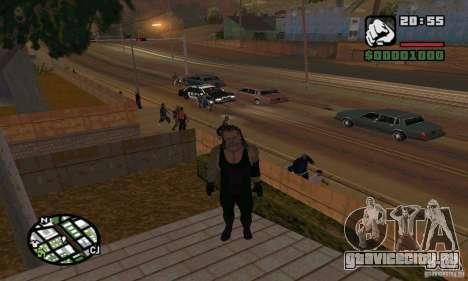 Гробовщик из Smackdown 2 для GTA San Andreas шестой скриншот