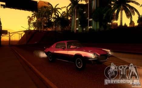Chevrolet Camaro Z28 для GTA San Andreas колёса