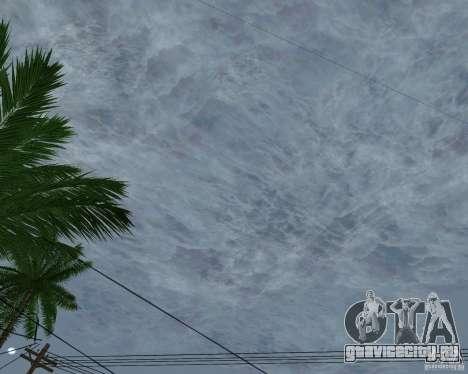 Новые облака для GTA San Andreas шестой скриншот