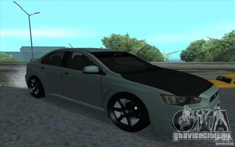 Proton Inspira Stance для GTA San Andreas вид сзади