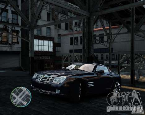 2007 Chrysler Crossfire для GTA 4