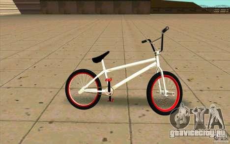Новый BMX для GTA San Andreas вид слева